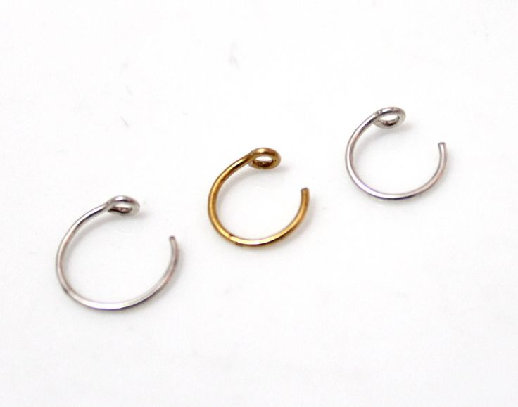 Fake Lip Ring. Fake lip Ring Fake Piercing, Gold Lip Jewelry, Gold Lip Hoop, Faux Lip Ring, Tiny Lip Rin, Fake Lip Piercing, Lip Cuffs by OpalJewelryShop on Etsy