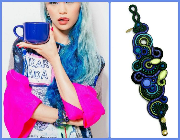 Have a colorful day with our Bellagio bracelet...  #doricsengeri #dorijewelry #bluebracelet #fashionaccessories #fashionstyling