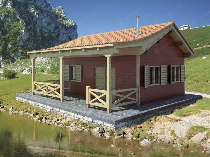 161 mejores im genes de casas de madera en pinterest for Casas de madera pequenas