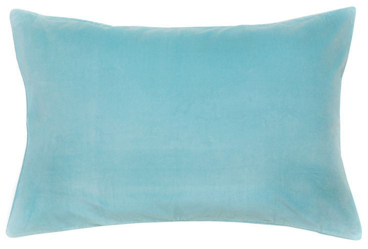 BLUE VELVET PILLOWCASE – Castle and Things