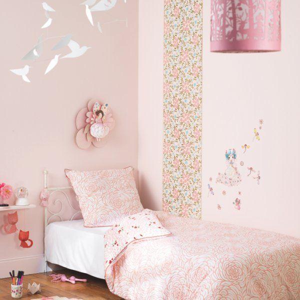 Chambre Ballerine – Ressource , chambre d'enfant, kids bedroom, kid bedroom, chambre rose, déco chambre d'enfant