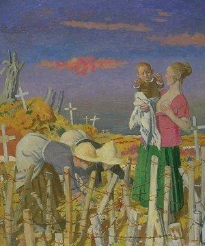 William Orpen, Harvest 1918