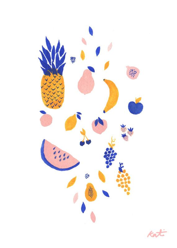 It is a festival of fruit up on this place and it looks like the gangs all here! Pineapple, watermelon, mango and more!