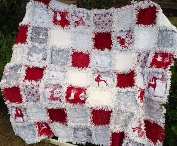 Best 25 Christmas Rag Quilts Ideas On Pinterest Rag