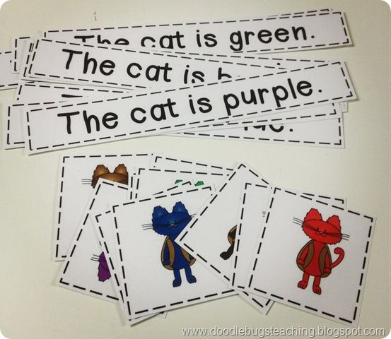 Receptive language: matching spoken sentences to appropriate pictures