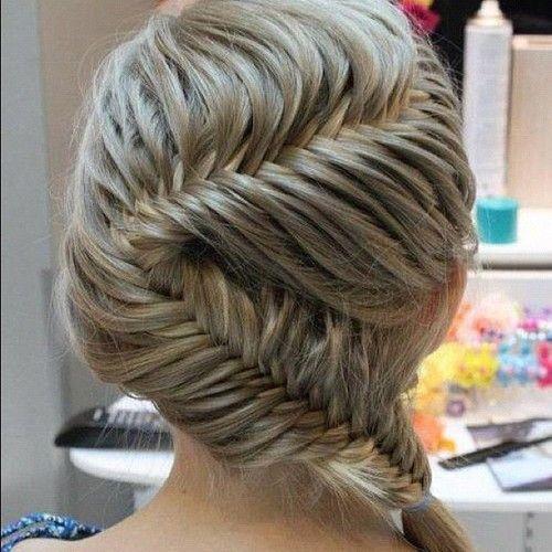 new way to fish tail my hairBraids Hairstyles, French Braids, Braids Hair Style, Fish Tail, Long Hair, French Fishtail, Beautiful, Frenchfishtail, Fishtail Braids