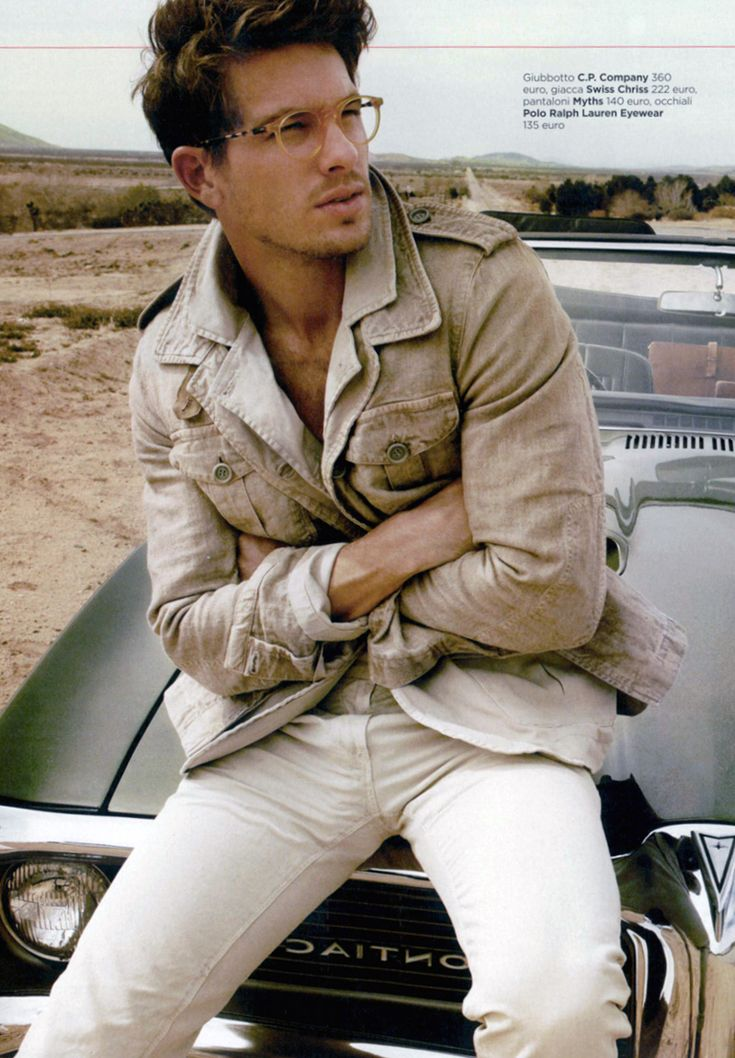 Adam Senn by Yu Tsai for GQ Italia