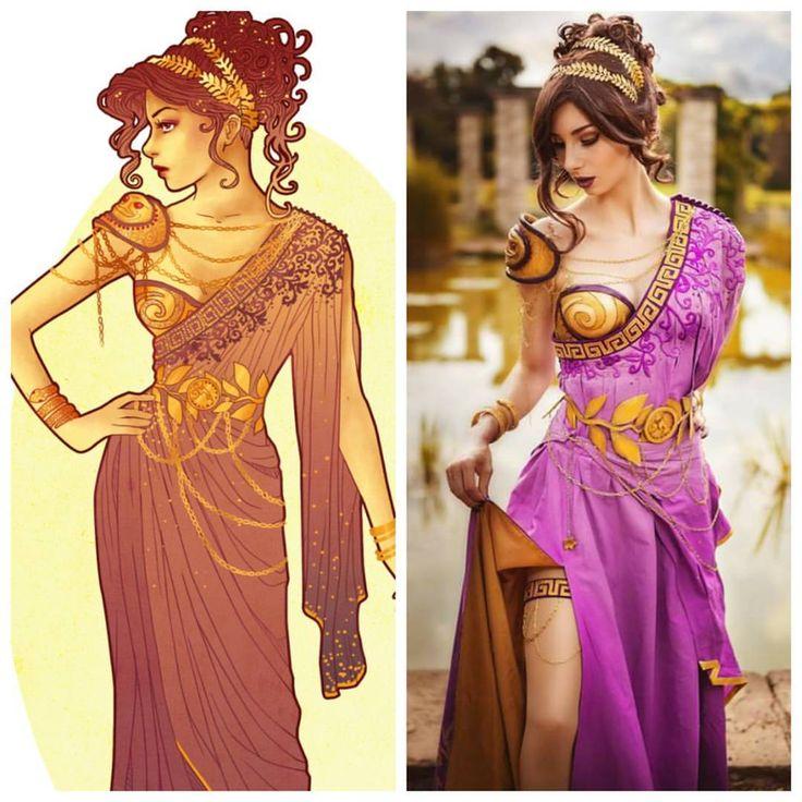 """10.2k Likes, 70 Comments - Hannah Alexander Artwork (@hannah_alexander_artwork) on Instagram: """"Beauuutiful cosplay of my Meg @symphoniacosplay ❣❣❣ #meg #megara #cosplay #costume #disney…"""""""