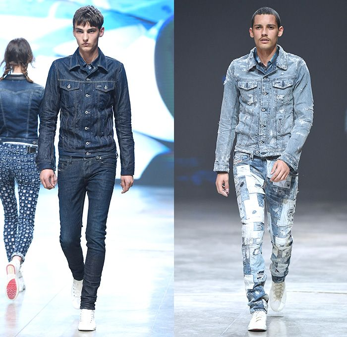83 Best Denim Runways M Fw1415 Images On Pinterest