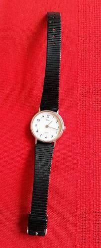 Reloj Dama Timex Analogico Clasico Malla Goma