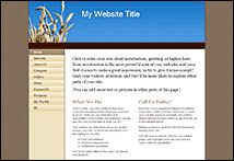 Create a site easily with Yahoo! SiteBuilder