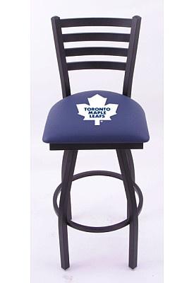 Holland Toronto Maple Leafs Swivel Bar Stool with Back