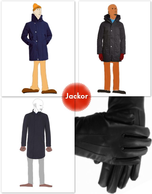 Jackor #coat #jacket #elvine #filippa-k #paulsmith #vegan