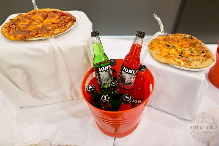 Wedding Reception with Pizza & Jones Sodas - at the Ramada Prince George