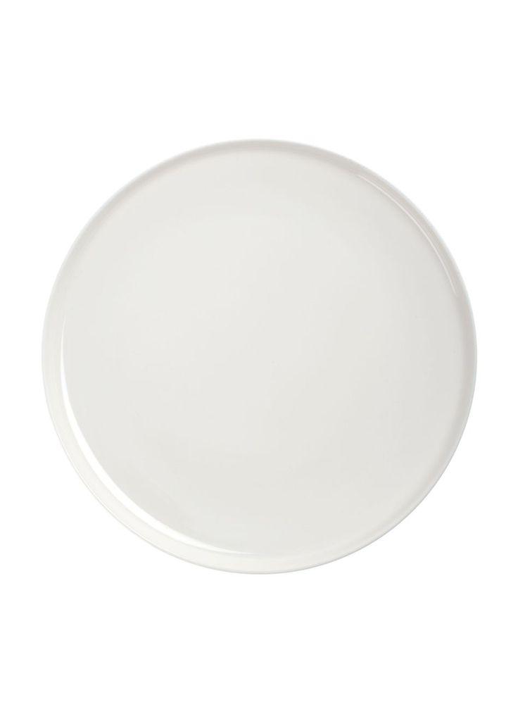Oiva-lautanen (valkoinen)   Sisustustuotteet, Keittiö, Posliinit, Lautaset   Marimekko
