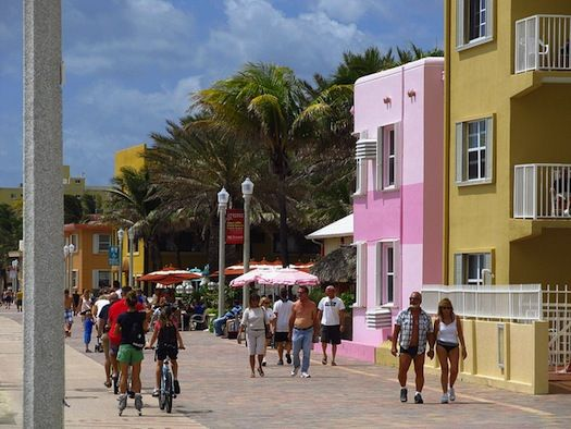 Gode tips til neste tur til Florida!!! Hollywood Beach Broadwalk