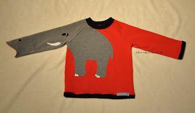 Elefantenshirt by Stich-Tag