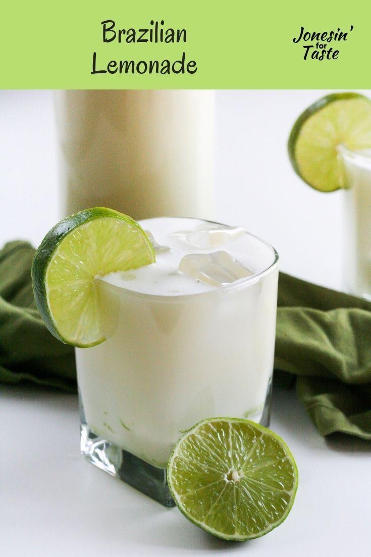 Brazilian Lemonade Recipe Brazilian Lemonade Lemonade Condensed Milk Recipes