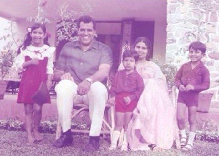 Dara Singh and Family