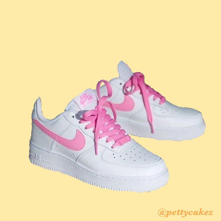 Nike Pink Air Force 1 Png Nike Air Force Sneaker Air Force Nike