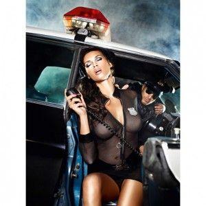 Przebranie policjantka - Baci Undercover Cop Set S/M - Świat-Erotyki.pl