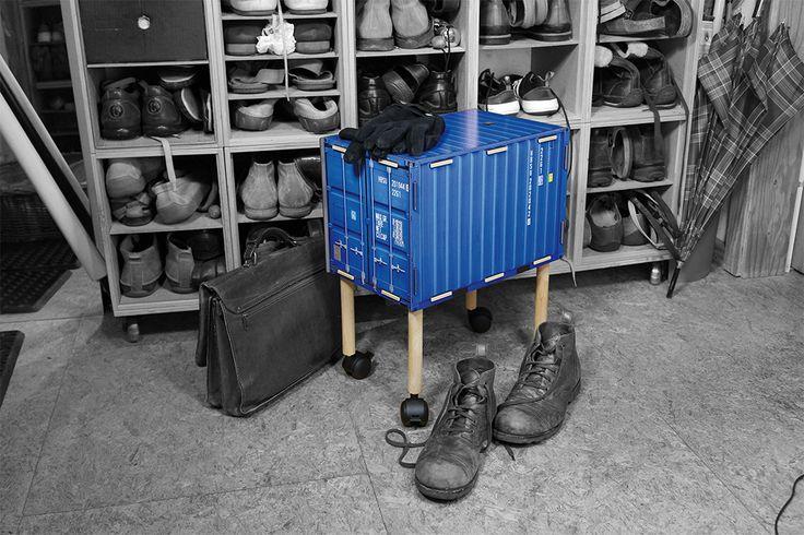 Globetrotter-Flair für zu Hause oder das Büro! Werkhaus schickt ein ganzes Sortiment origineller Möbel und Wohn-Accessoires im Look des umtriebigen Weltenbummlers auf die Reise. http://www.werkhaus.de/shop/index.php?cat=c557_Container-Container-Revolution.html