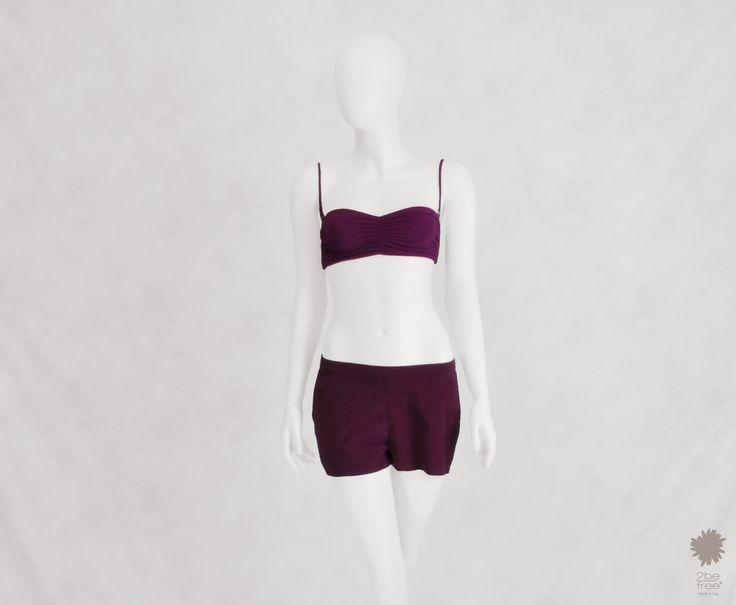 Ibiza Pancé - Shorts in dyed silk with side pocketsIbiza Pancé