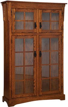 33% OFF Amish Furniture - Hand Crafted Shaker and Mission Furniture Online Outlet Store: Heritage Mission Bookcase: Oak