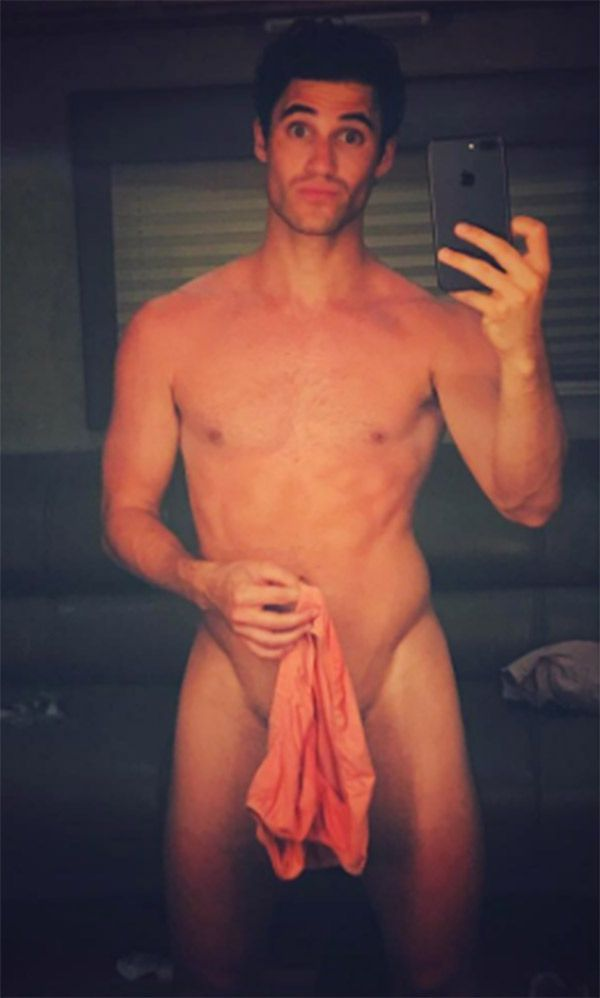 Darren Criss Shows Off His Jaw-Dropping 'V Line' In New Naked Photo