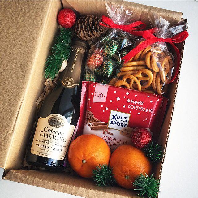 331 отметок «Нравится», 62 комментариев — New❤️Подарки в Барнауле! (@pin_up_style) в Instagram: «Еще один подарочный «новогодний бокс» (стандартное наполнение) -игристое полусладкое -шоколад…»