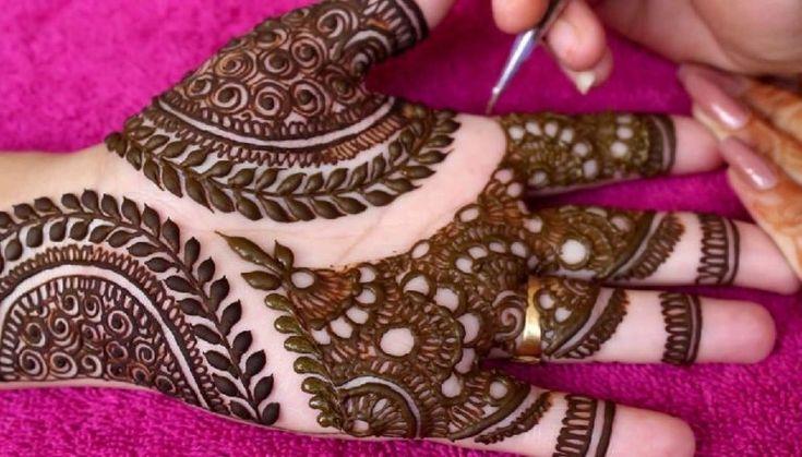 110+ Simple Mehndi Designs | Beautiful Henna | Styles At Life | Simple mehndi designs, Simple ...