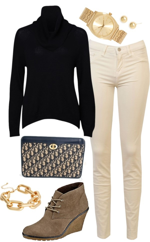 Best 25+ Cream jeans ideas on Pinterest