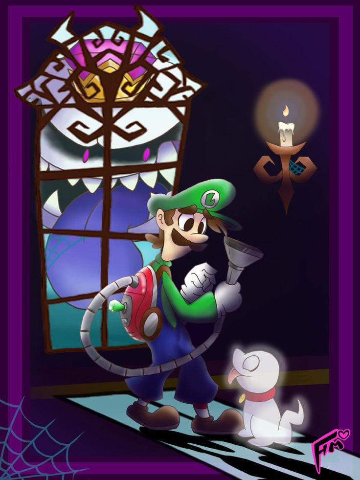 Luigis Mansion Poster By SuperTawaifaQueen