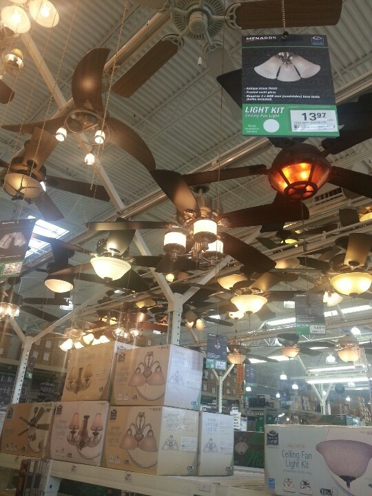 Ceiling fan menards home decor