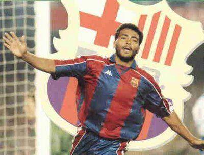 Romario. FC Barcelona