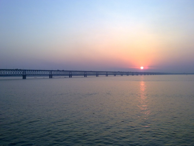 Godavari River, Rajahmundry, India