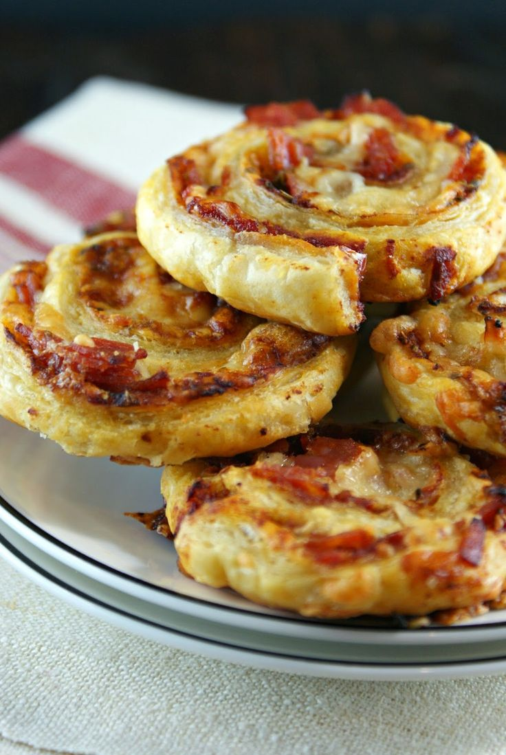 Pizza Pinwheels | Secret Recipe Club
