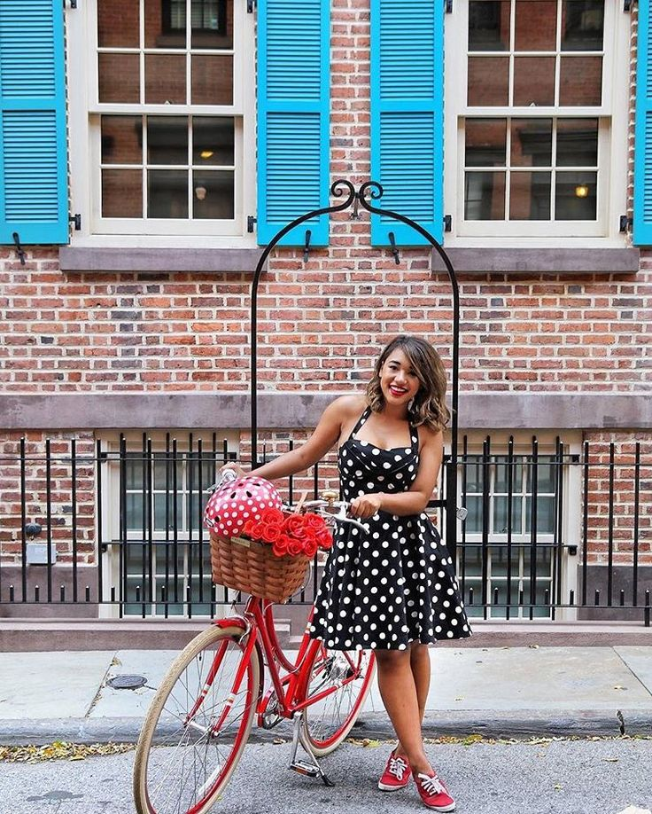 Spotty cycle chic RG @colormecourtney