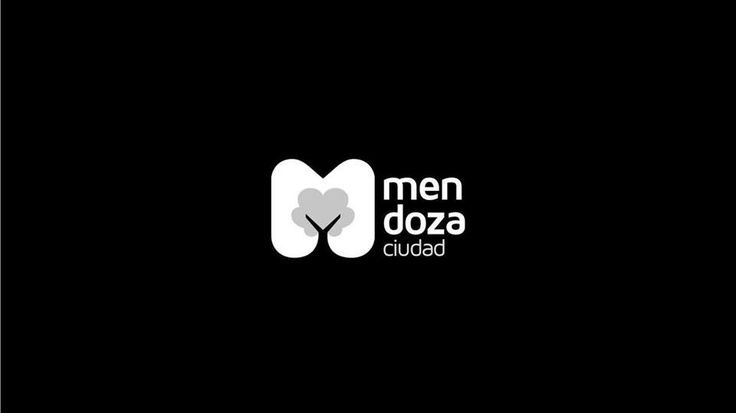 Mendoza City Argentina logo is a big M with a tree inside... looks like pissed pants
