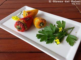 Il Girone dei Golosi: Mini Peperoni ripieni di Cous Cous