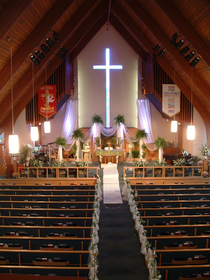 Wedding Ceremony in the Sanctuary at First United