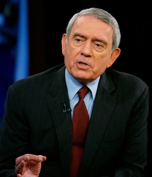 Dan Rather, formerly with CBS Evening News