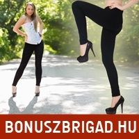 Női leggings fekete színben