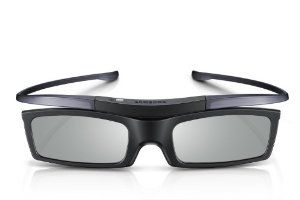 Samsung SSG-5100GB 3D Active Glasses by Samsung. $19.99. The Samsung SSG-5100GB 3D active glasses are compatible with 2012 and 2013 model year Samsung 3D-ready HDTVs(E, ES, and F series). You must also have a 3D-ready Blu-ray player with 3D content, or a satellite/cable provider broadcasting in 3D. Note: Not compatible with previous Samsung TV's which featured a 3D Sync IR output, or 2010 Samsung 3D-ready TVs with IR emitter.