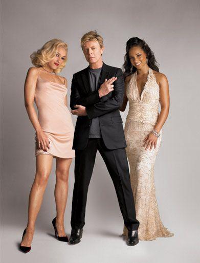 Fashion Rocks: Gwen Stefani, David Bowie and Alicia Keys: Copyright: Patrick Demarchelier