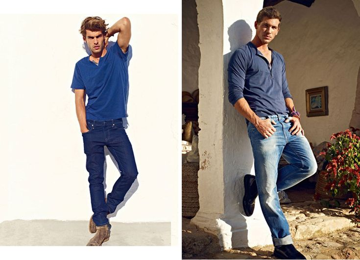 Jon Kortajarena & Adam Senn for Mavi Jeans Spring/Summer 2012