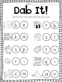 Beginning Sound Bonanza Printables and Workstations | classroom ...