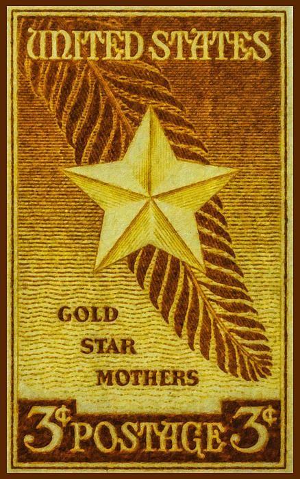I uploaded new artwork to fineartamerica.com! - 'The Gold Star Mothers Stamp' - http://fineartamerica.com/featured/the-gold-star-mothers-stamp-lanjee-chee.html via @fineartamerica