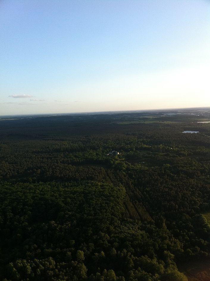 La #forêt Chambiers vue du ciel ! #chateau #jardin #anjou #ValDeLoire
