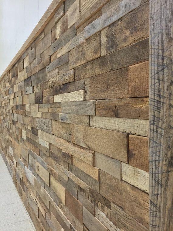 Reclaimed Barn Wood Wall Panels Diy By Theworkshopbyvwf On